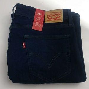 Levi's 529 womens bootcut blue jeans size 32 X 32